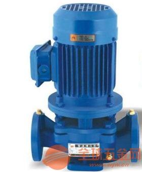 封丘ISG65-160A纺织专用管道泵采用进口钛合金密封环