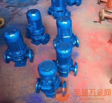 利州ISG80-160IB暖气管道泵叶轮直接安装在电机