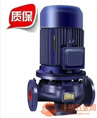 中站ISW50-125立式管道泵建筑投入低