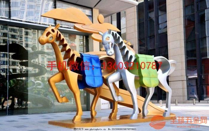 不锈钢抽象雕塑 抽象雕塑定制厂家