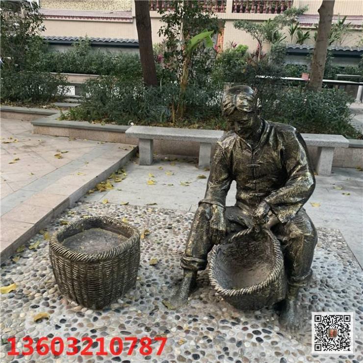 人物雕塑 人物玻璃钢雕塑工程有限公司