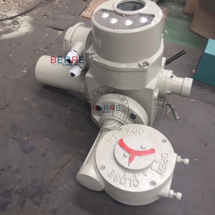 远程控制阀门电动执行器 阀门电动执行器无线控制