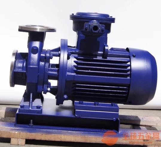 马尾ISW65-160A二次循环泵安装于管路之中