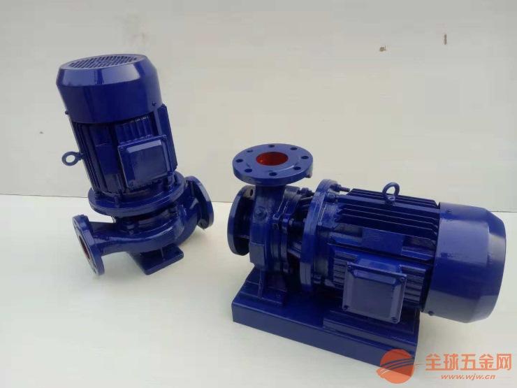彭州ISW65-250B锅炉高温热水增压循环泵采用硬质合金材质