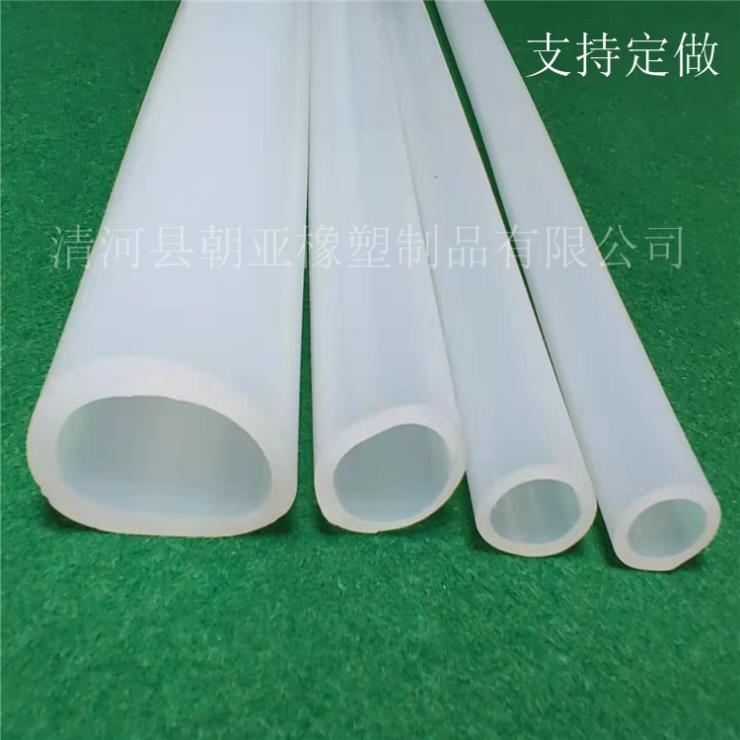 白色硅胶O型空心防尘耐磨损密封条