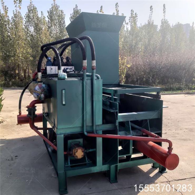 林芝牛羊飼料青儲壓塊機使用方法