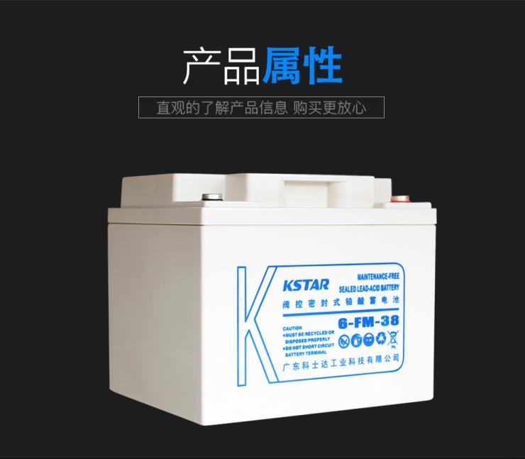 六盘水科士达6-FM-100铅酸免维护蓄电池