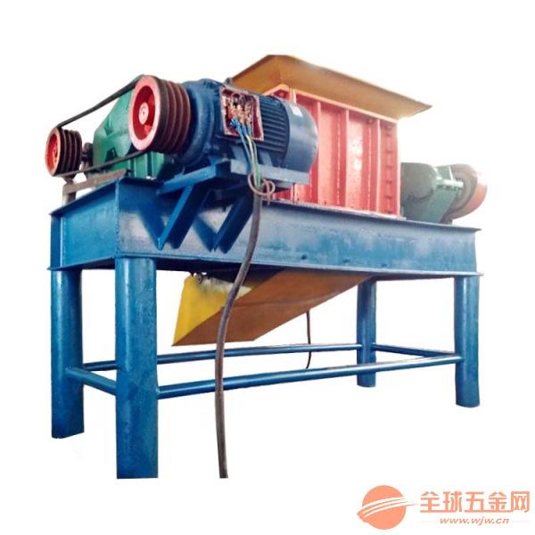 废旧铁管材金属粉碎机不锈钢304撕碎机环保节能