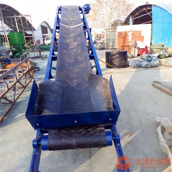 六九重工圆管护栏装卸车上料用粮食输送机LJ8