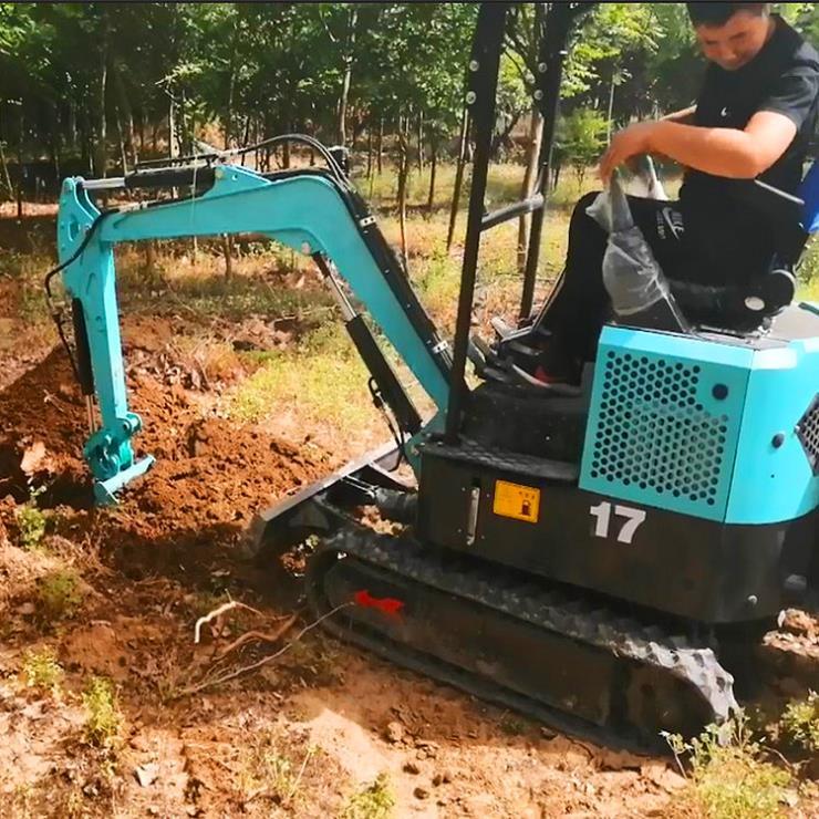 自动挖树机价格/履带式液压挖掘机型号/六九重工自动挖