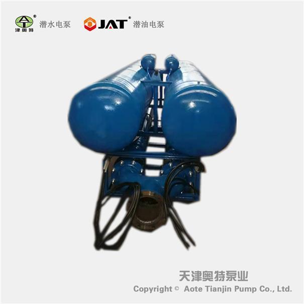 可移动排水专用浮筒式潜水泵