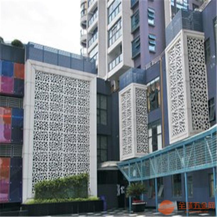 造型雕刻铝单板定制 镂空雕花铝单板厂家