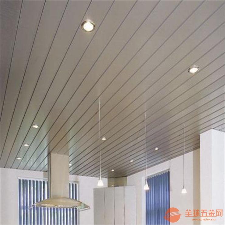 我公司专业生产天花、幕墙、装潢铝合金条扣,高边条扣板
