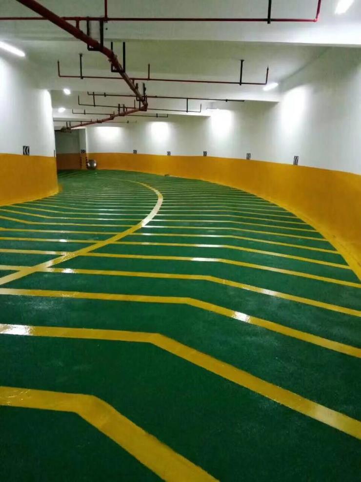 银川地坪漆地下停车场专用环氧树脂地坪涂料