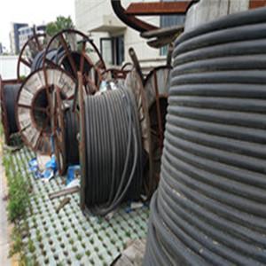 盐城回收旧电缆铜芯电缆回收
