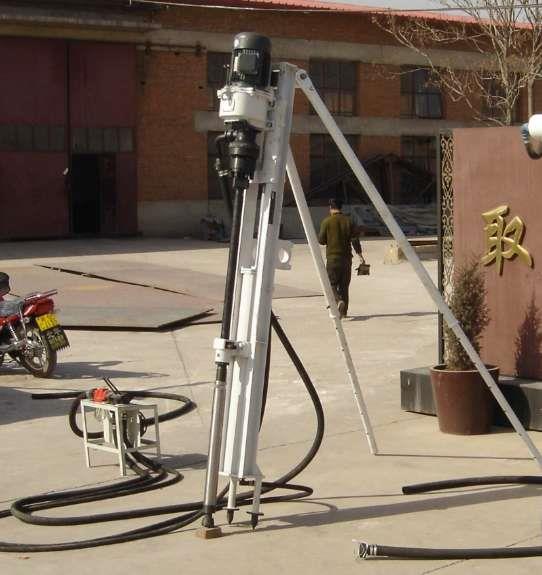 小型电动潜孔钻机100D保障 名达正宇锚固钻机厂家