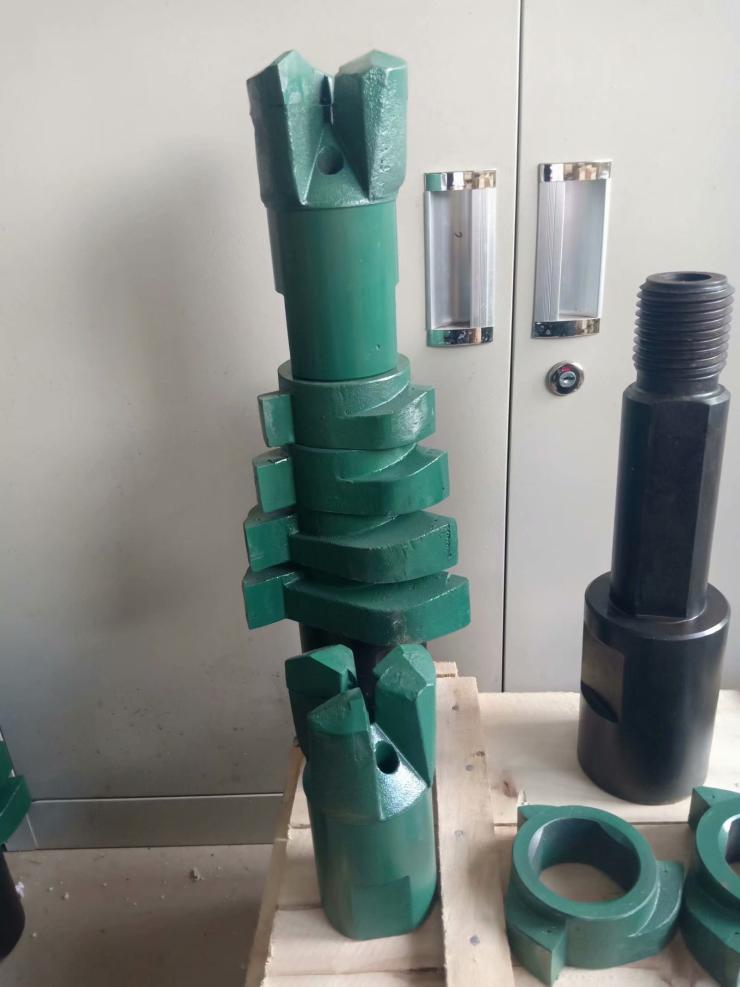 76钻杆配带的直径150的打土钻头保障 打土钻头大降价