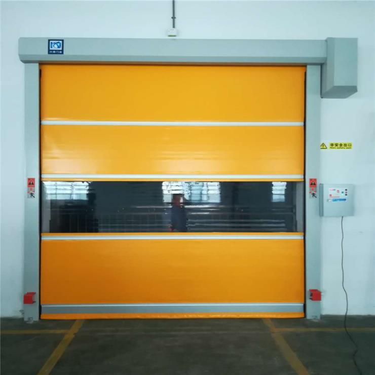深圳地区供应声控控制快速门、电动卷帘门厂家