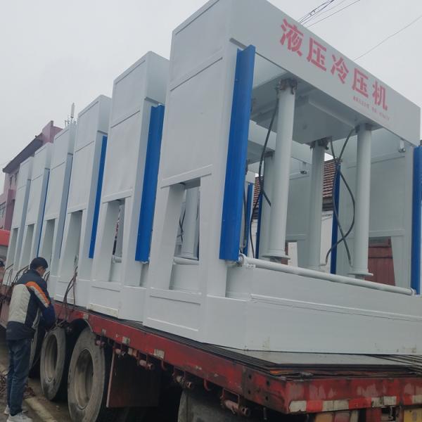 九江门芯板冷压机操作流程