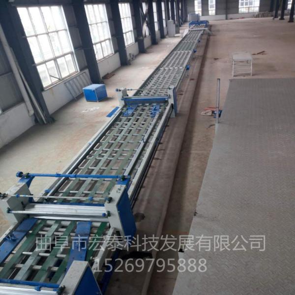 劍河縣玻鎂板制板機生產流程