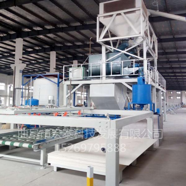 高安硫酸镁板生产线生产流程