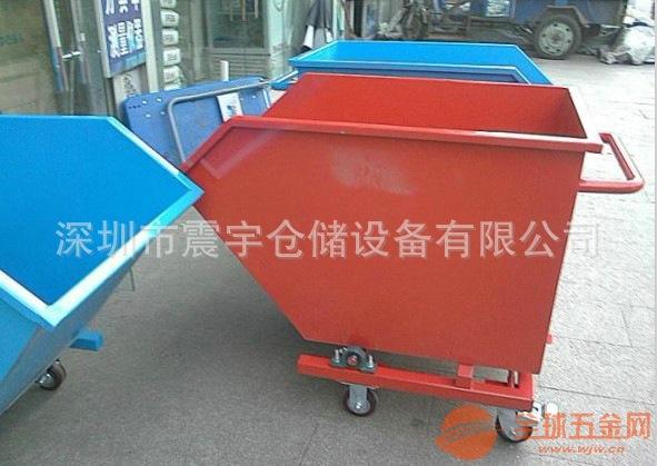 车间废料铁屑车 机床废料垃圾斗车定做