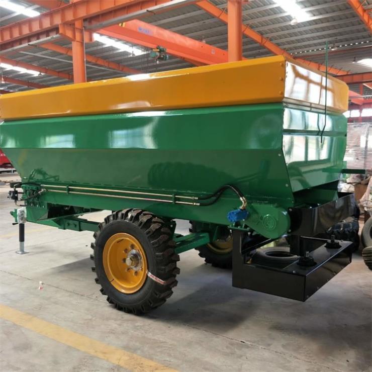 自动撒肥机 拖拉机后置撒肥料机价格厂家直销