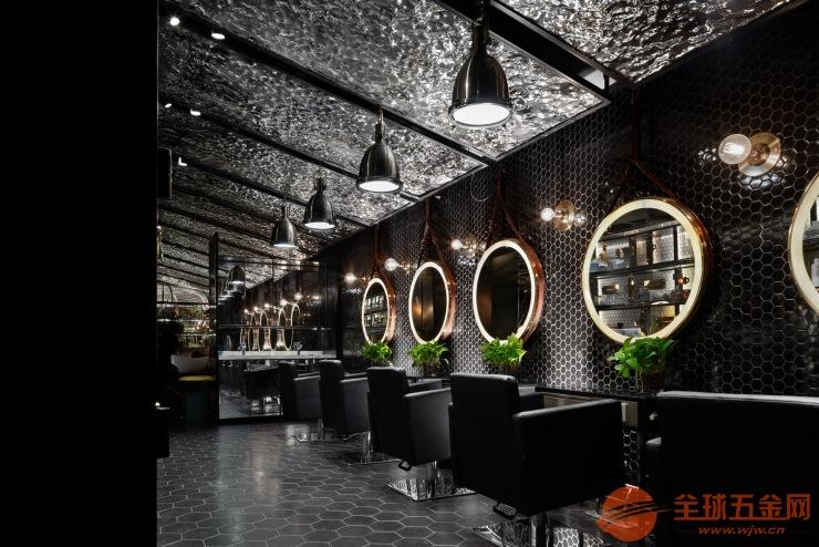 耳目一新的青岛美发店装修青岛工业风发型工作室设计装修图片