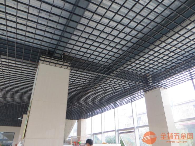 厂家直销木纹铝格栅吊顶 洗车房吊顶 专用铝格栅