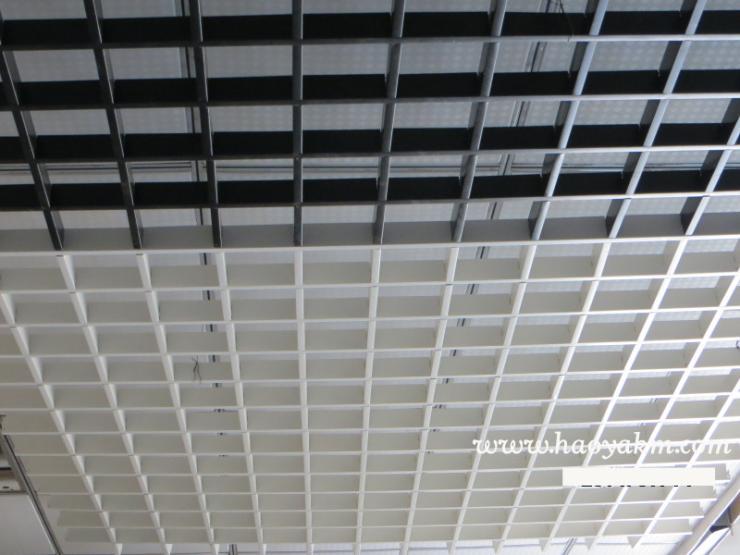 铝天花厂家直销,铝格栅吊顶天花,铝格子可定制生产