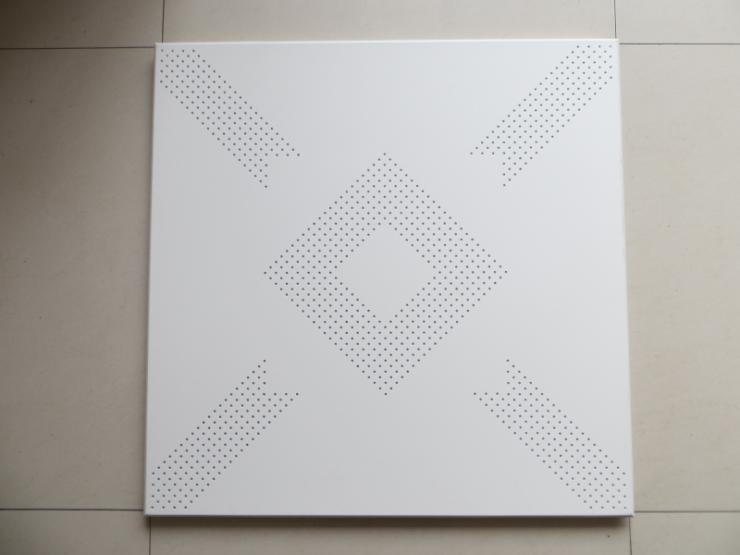 工程装修铝扣板规格厚度选择,600*600铝方板装饰吊顶