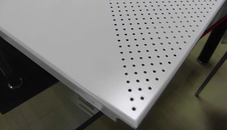 豪亚铝扣板,600铝方板久经耐用,无色差铝扣板