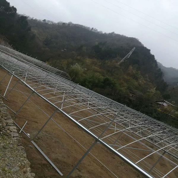 無錫南長大棚管6米跨度 50米長度大棚鋼管用料庫存