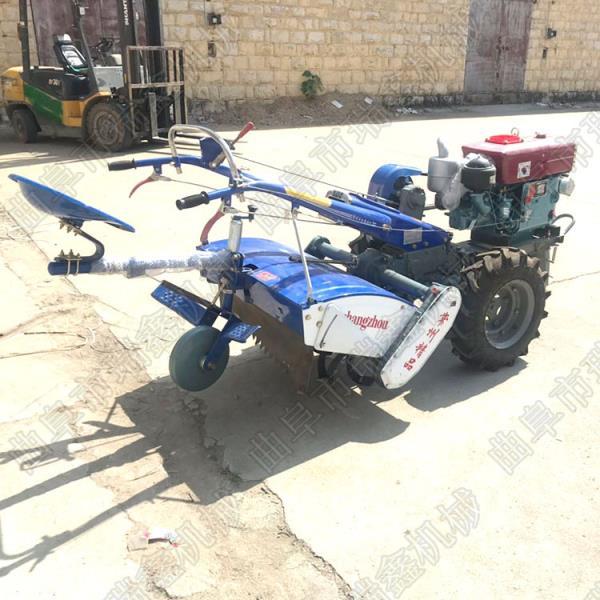 柴油水冷手扶拖拉机配置旋耕机