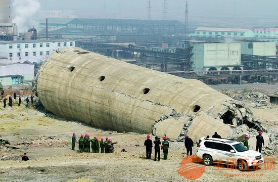 鹤壁水泥烟囱拆除公司――荐看