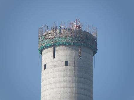 高效:陜西省混凝土煙囪防腐美化