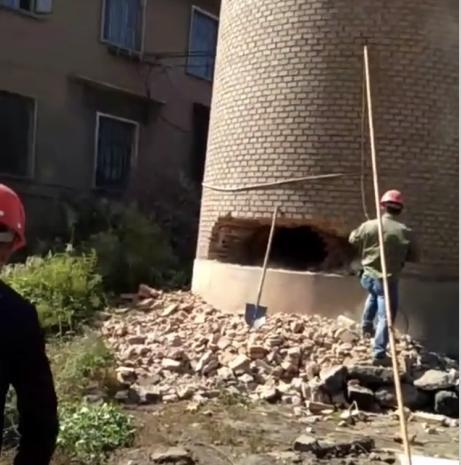 龙岩拆烟囱