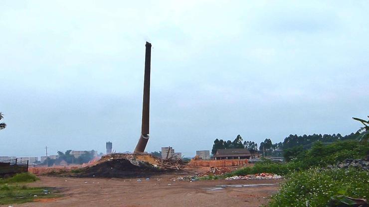 漳县混凝土烟囱拆除价格