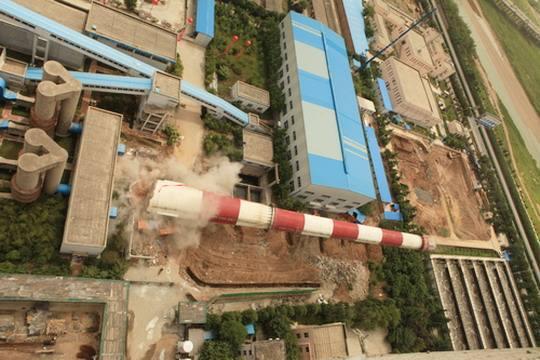 :德阳锅炉烟筒拆除专业公司