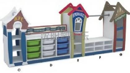 幼儿园新款教玩具柜