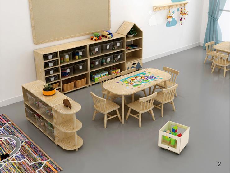沈阳幼儿园早教中心室内儿童生活区 区角活动
