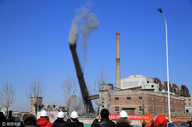 高清鹤岗高空烟囱美化公司高清