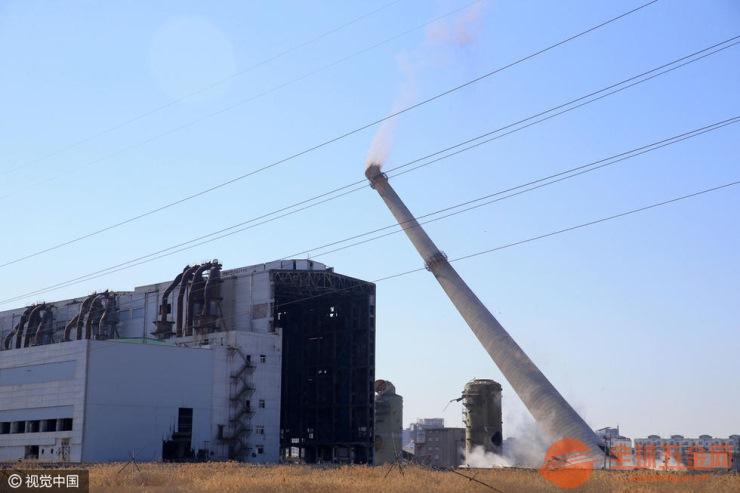 玉林拆除废弃烟囱在亚博能安全取款吗——快讯