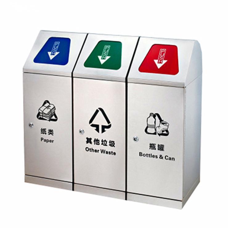 福州室内不锈钢垃圾桶供应商,定做厦门办公果皮箱价格
