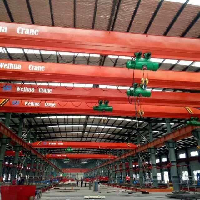 河南卫华新闻:10吨13KW葫芦运行电机接待处