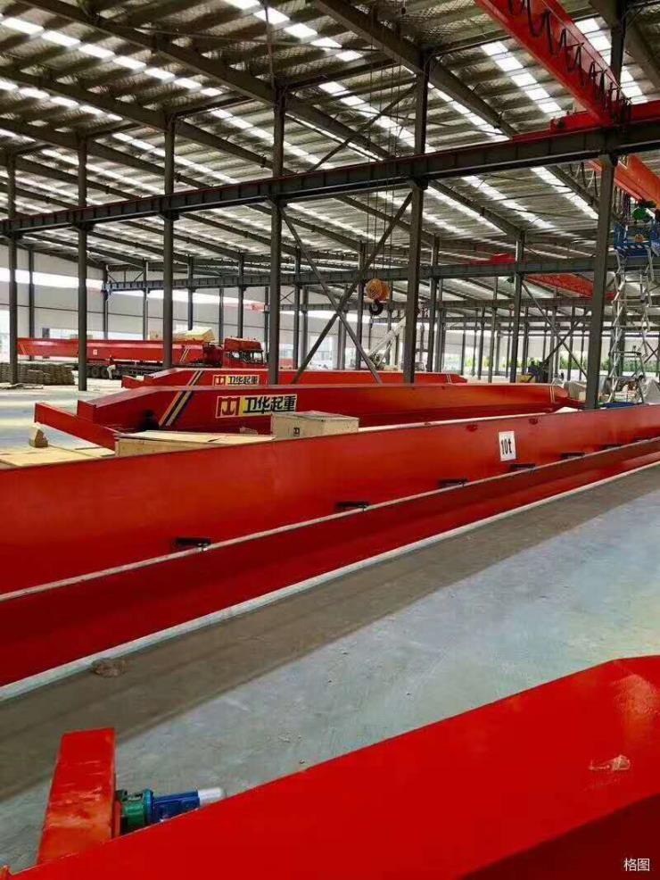 卫华集团新闻:200吨A型75/20吨双梁包厢型门式