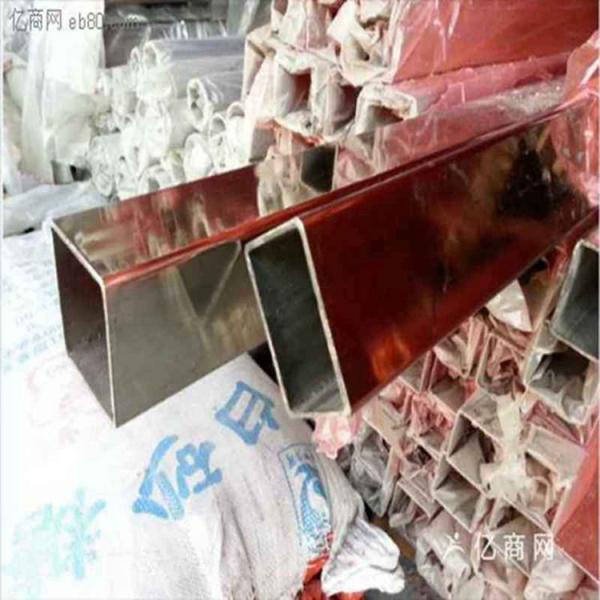 昌吉州201不锈钢矩形管60*100*1.4mm价格便宜