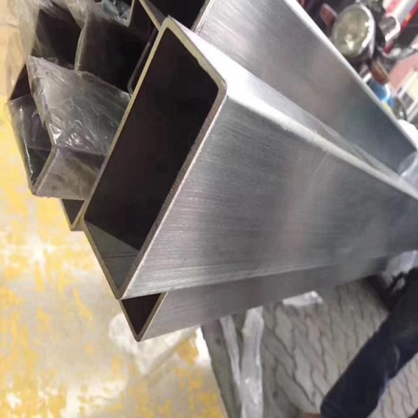 八宿县201不锈钢矩形管5*50*1.5mm直销