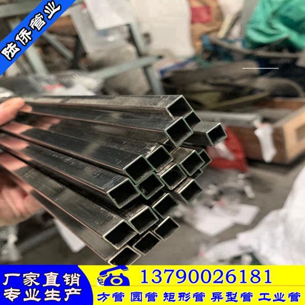 耀县316L不锈钢方管100*100*1.8mm直销