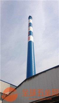 柳州烟囱美化公司-专业烟囱刷油漆施工